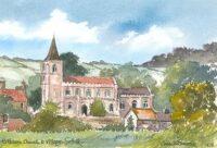 Rattlesden Church 1638