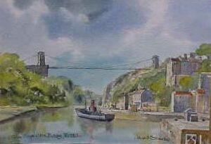 Clifton Suspension Bridge, Bristol 1659