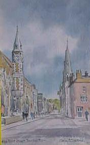 High Street East, Dorchester 1663