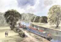 Canal, Berkhamsted 1671