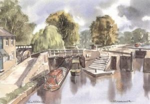 Canal, Rickmansworth 1673