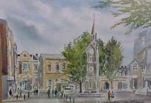 Market Square, Aylesbury 1693