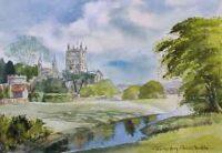 Tewkesbury Abbey 1705