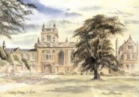 Trinity College, Oxford 1706