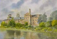 Old Silk Mill, Derby 1721