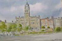 Town Hall, Derby 1723