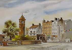 Clock Tower, Bangor 0182