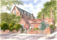Almshouses, Chigwell 1906
