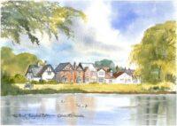 Theydon Bois Pond 1936