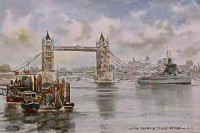 The Thames and Tower Bridge 0217