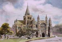 Rochester Cathedral, West Front 0231