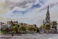 Scott Memorial, Edinburgh 0293