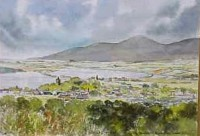 Mournes from Dundrum 3032