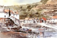 Beck at Staithes 0310