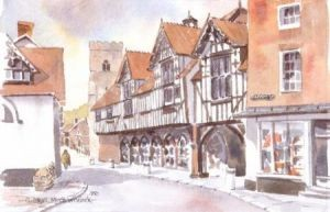 Guildhall, Much Wenlock 0330