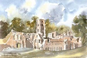 Fountains Abbey 0347