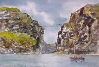 Carrick-a-Rede Rope Bridge 3573