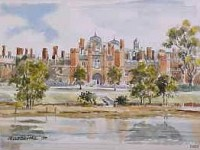 Hampton Court Palace, West Front 0507