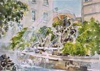 Neptune Fountain, Cheltenham 0509