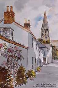 Church Lane, Lostwithiel 0515