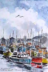 Boats at Kilkeel Harbour 0534