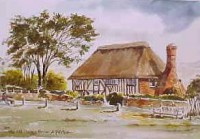 Old Clergy House, Alfriston 0548