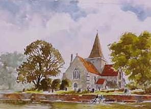 Alfriston Church 0549