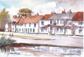 Cottages, High Street, Bushey 0551