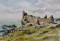 Dunure Castle, Ayrshire 0591
