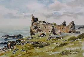 Dunure Castle, Ayrshire 0591
