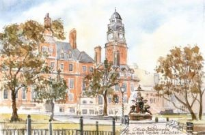 Town Hall Square, Leicester 0713