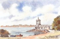 Normanton Church, Rutland Water 0798