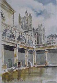 Roman Baths, Bath 0868