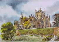 Dunfermline Abbey & Gardens 0889