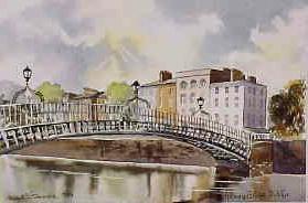 Halfpenny Bridge, Dublin 0939
