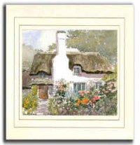 High Chimney, Original Watercolour Painting by Martin Goode