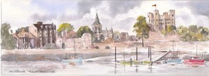 Rochester Cathedral & Castle PA076